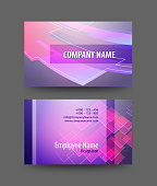 Business Card Design. Each element in a separate layers. Very easy to edit vector EPS10 file. It has transparency layers with blend effects.