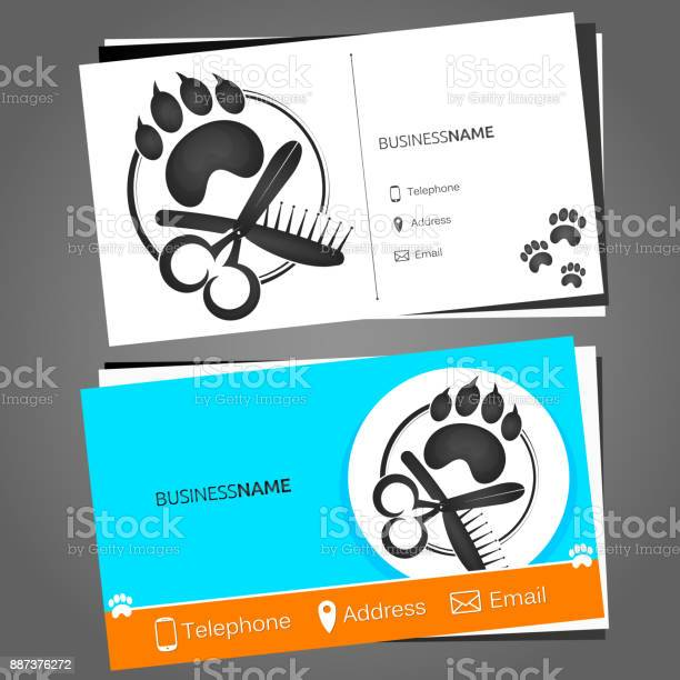 Business card for a hairdresser for pets vector id887376272?b=1&k=6&m=887376272&s=612x612&h=d bo80dtppwg d6 7 0cbc2zj yv9vltc27bwdilfi0=