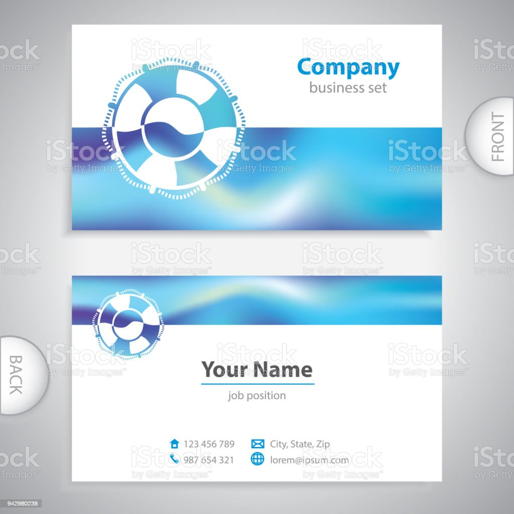 Business card lifebuoy symbol marine equipment stock vector art business card lifebuoy symbol marine equipment royalty free business card lifebuoy symbol marine colourmoves
