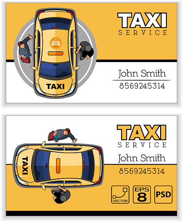 Business card taxi