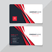 Modern and Clean Business Card Template. Double sided design