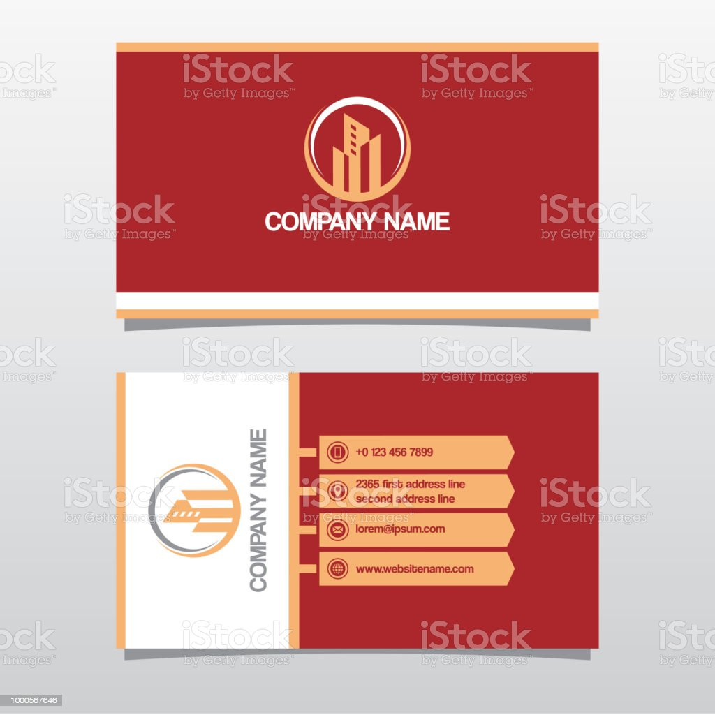 Business Card Template Double Sided