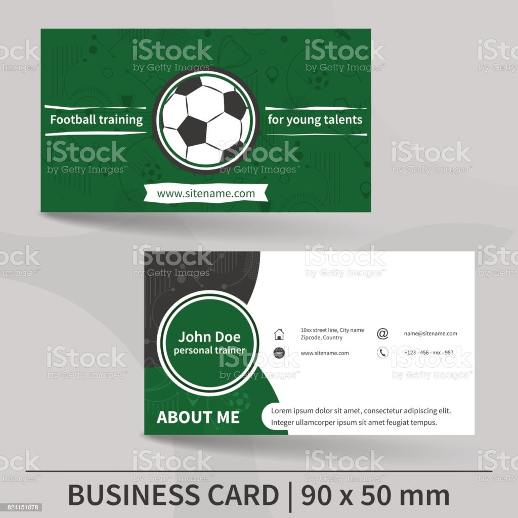 Soccer business cards images free business cards soccer business card template stock talent acquisition manager job business card template football training personal trainer magicingreecefo Gallery