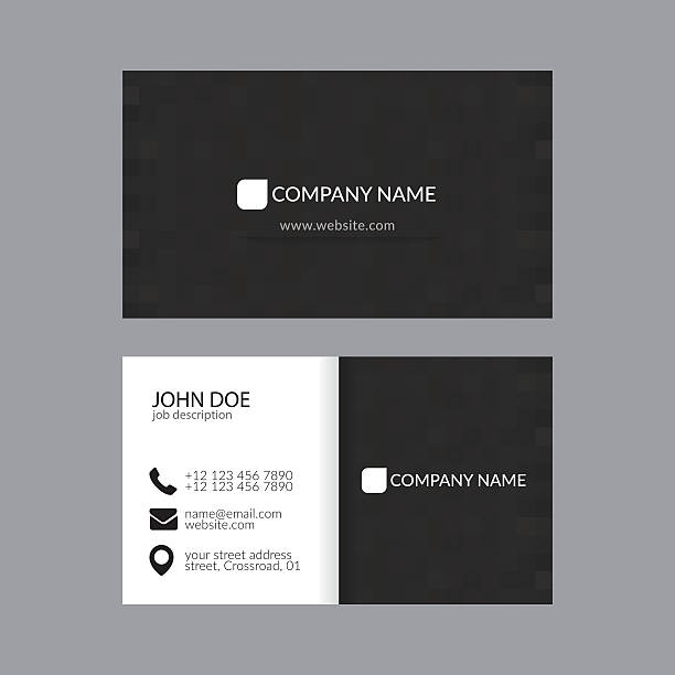 Royalty Free Business Card Clip Art, Vector Images & Illustrations ...