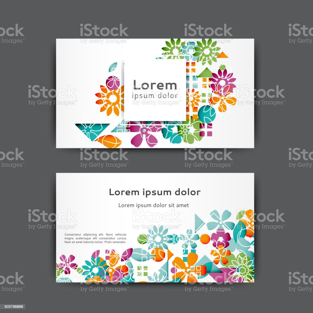 Business card template stock vector art more images of abstract business card template royalty free business card template stock vector art amp more images reheart Gallery