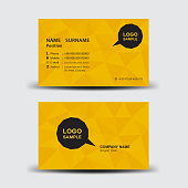 Business card template vector illustration, flyer design, Name card layout, Corporate ID Card