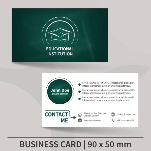 Royalty free business card teacher clip art vector images business card teacher clip art vector images illustrations reheart