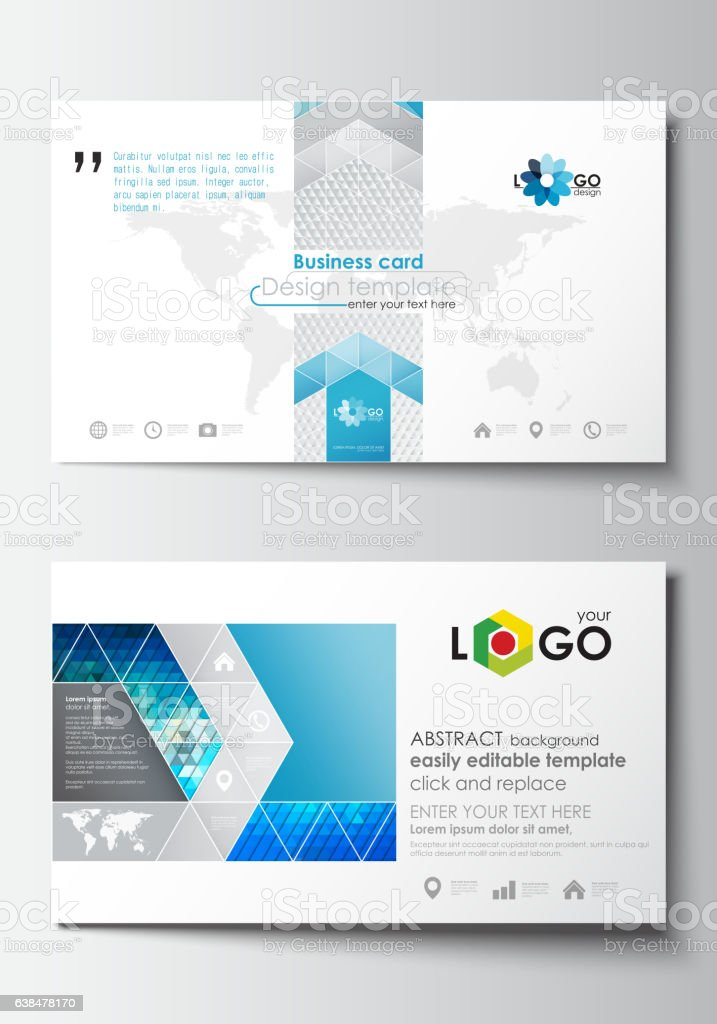 Business Card Templates Cover Design Template Easy Editable Blank ...