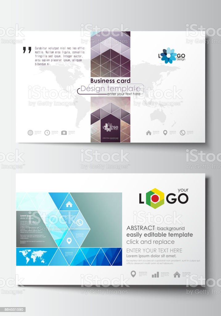 Business card templates cover design template easy editable blank business card templates cover design template easy editable blank flat layout abstract accmission Gallery