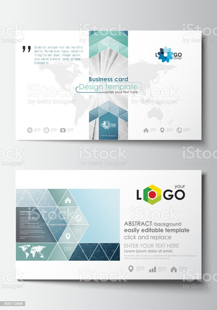 Business card templates cover design template easy editable blank business card templates cover design template easy editable blank flat layout abstract accmission Images