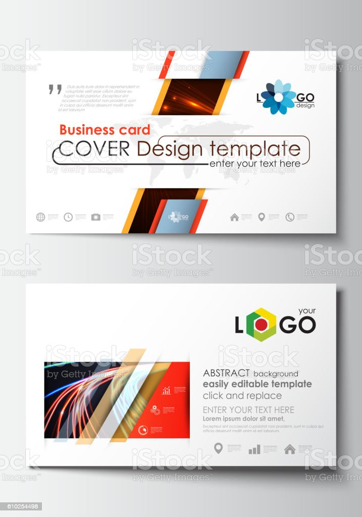 Pretty easy business card template images gallery easy business business card templates cover template easy editable blank flat flashek Choice Image