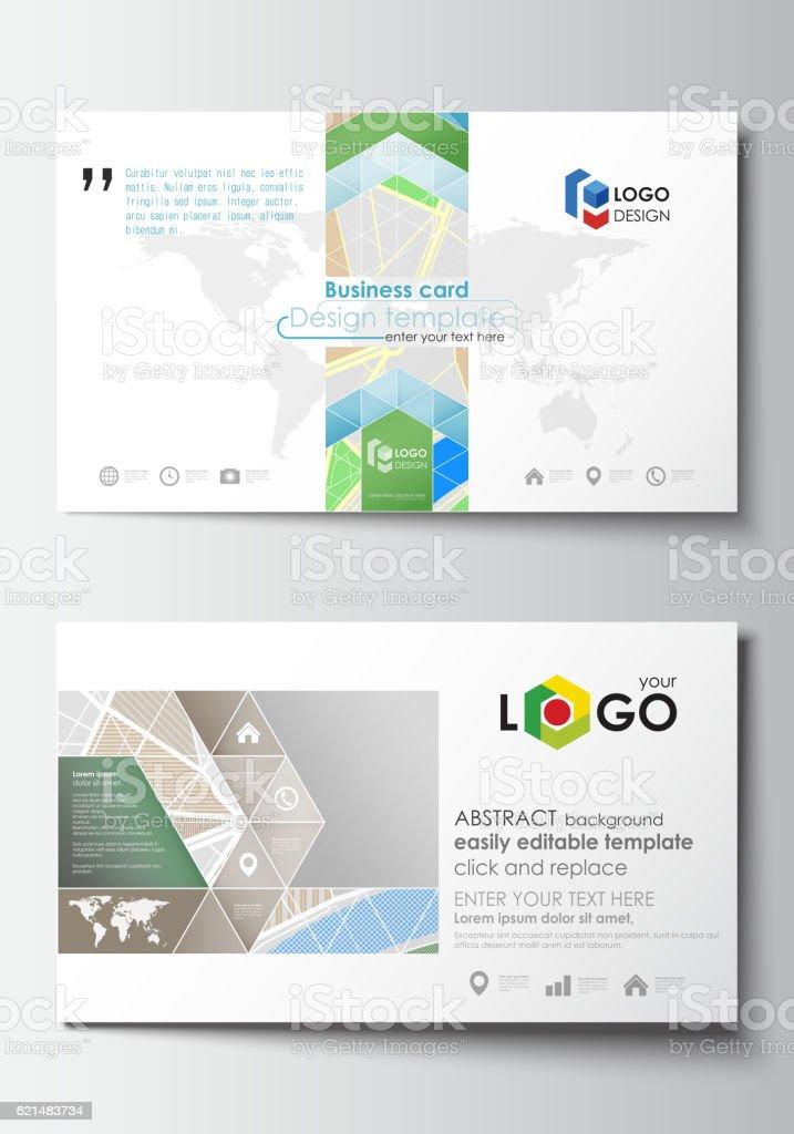 Business card templates easy editable layout city map with streets business card templates easy editable layout city map with streets royalty free business colourmoves