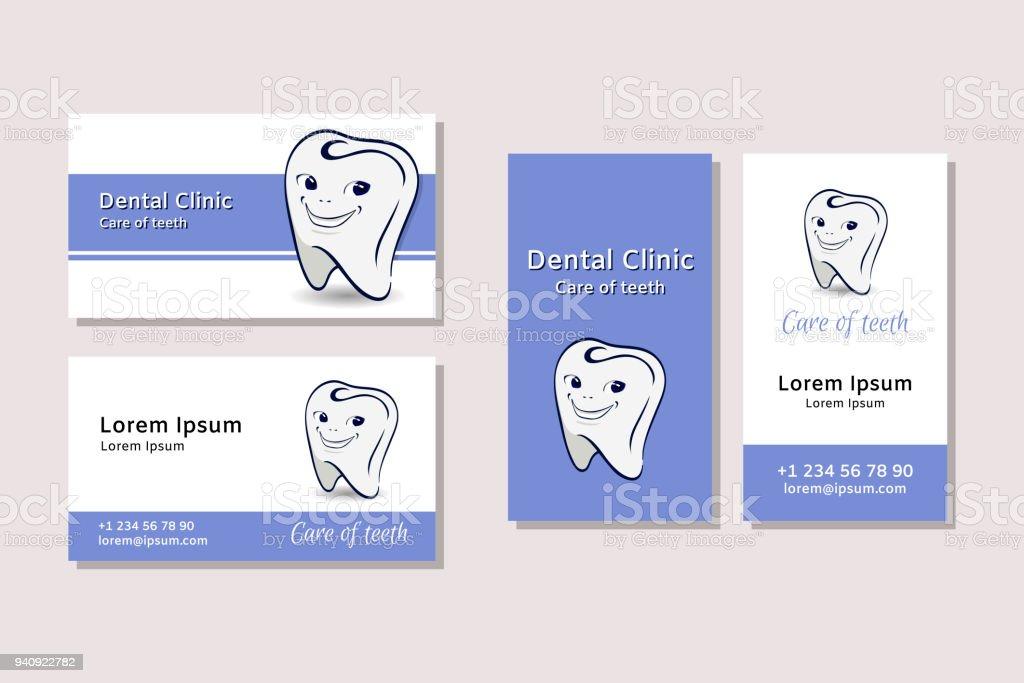 Modeles De Carte Visite Pour Cliniques Dentaires