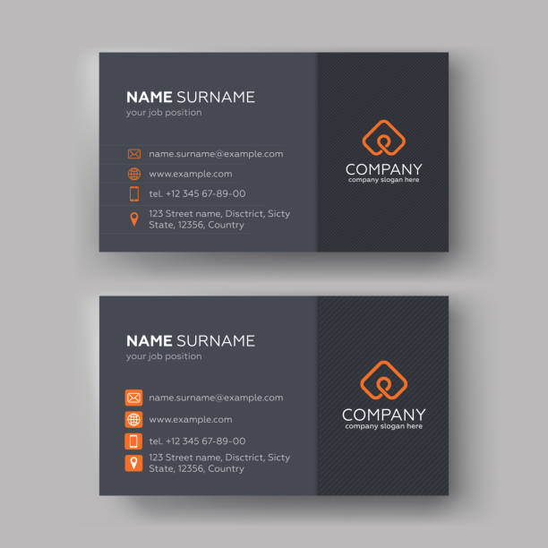 Business card templates Creative Business Cards Templates. Vector illustration. business cards templates stock illustrations