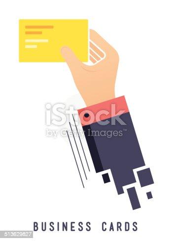 istock Business Card 513629827