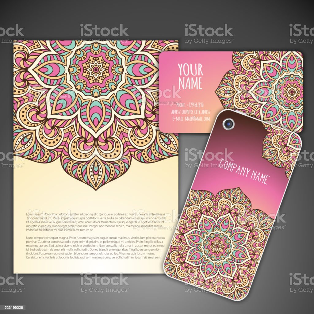 Business Card Stock Vector Art & More Images of Adult 523199029 | iStock