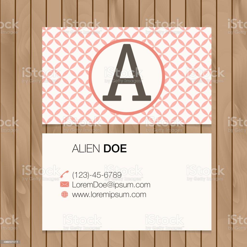 Banderole Donne Financire Image Peinte Lettre De Lalphabet Nombre Carte Visite
