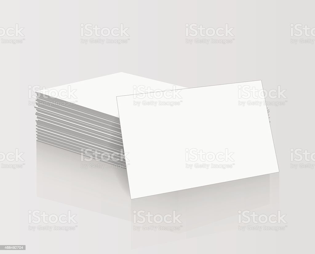 Business cards blank mockup template stock vector art 468492704 istock business cards blank mockup template royalty free stock vector art reheart Images