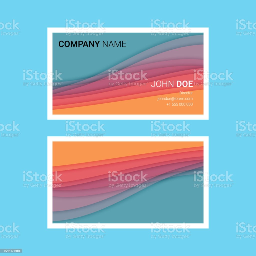Cartes De Visite Templates Cliparts Vectoriels Et Plus Dimages
