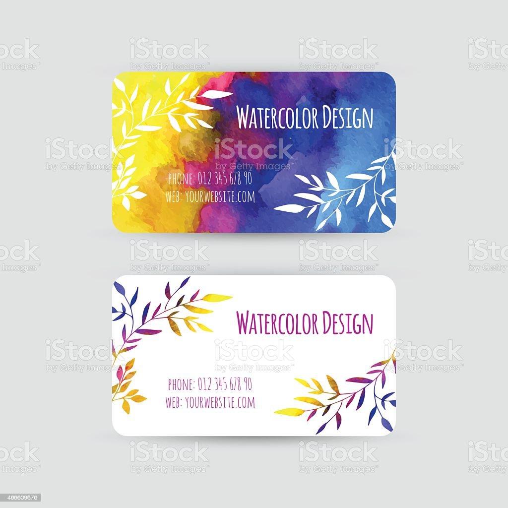 Visitenkartenvorlagen Stock Vektor Art Und Mehr Bilder Von