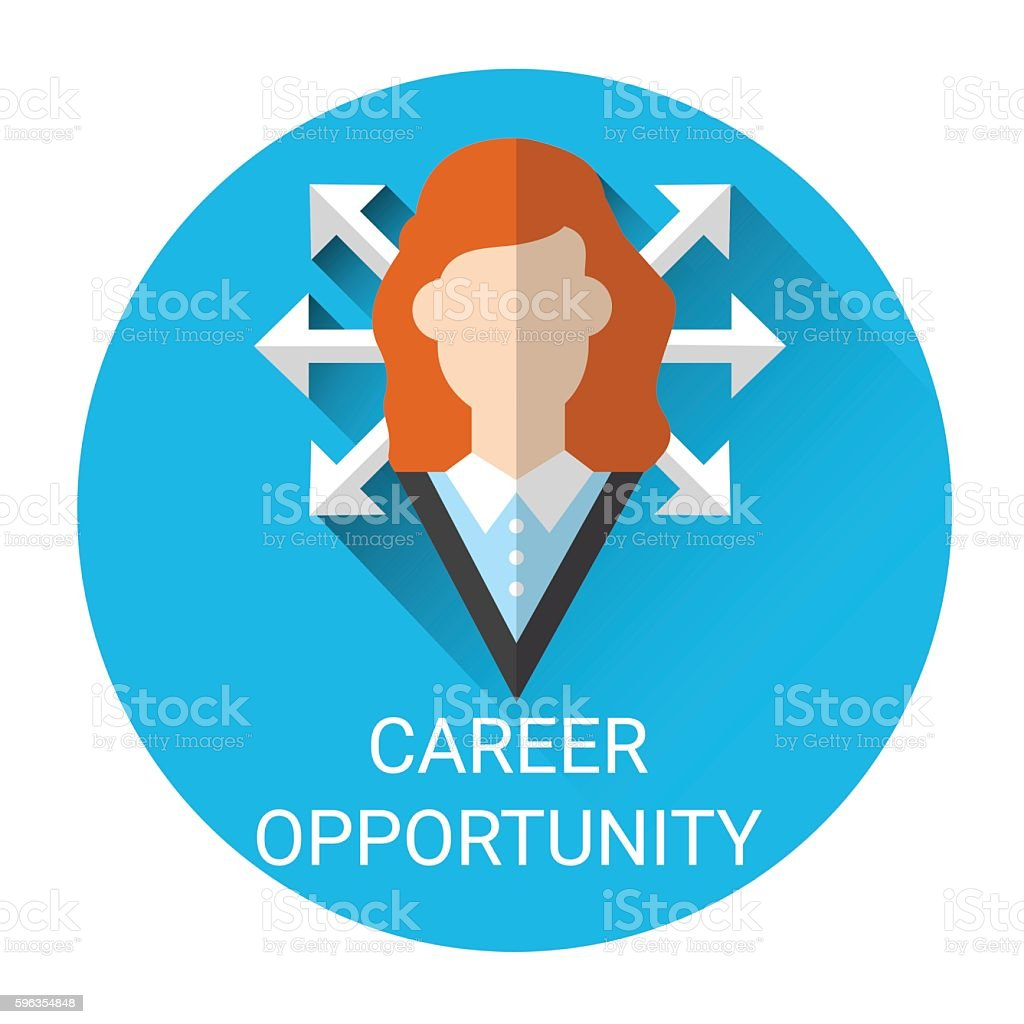 Business Career Opportunity Icon royalty-free business career opportunity icon stock vector art & more images of business
