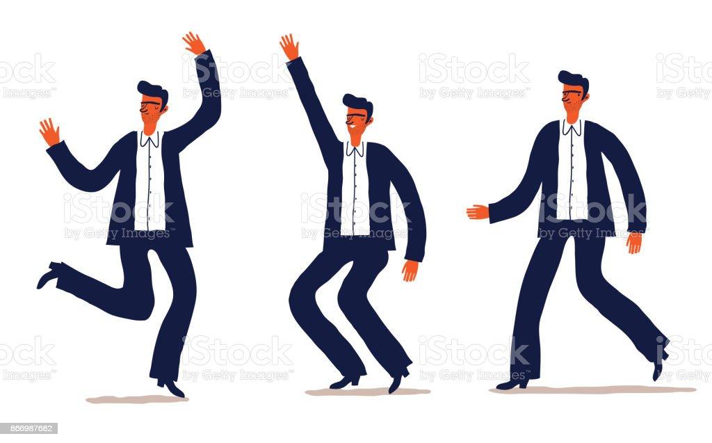 Business-Zeichensatz – Vektorgrafik