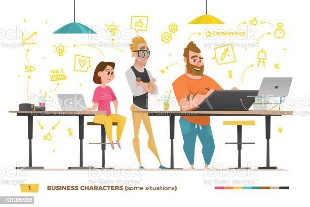 Business characters in some situations vector id701095938?b=1&k=6&m=701095938&s=612x612&h=yussqhpsu5max7 sow5tflvw4 kzz7l0prh6jobkows=