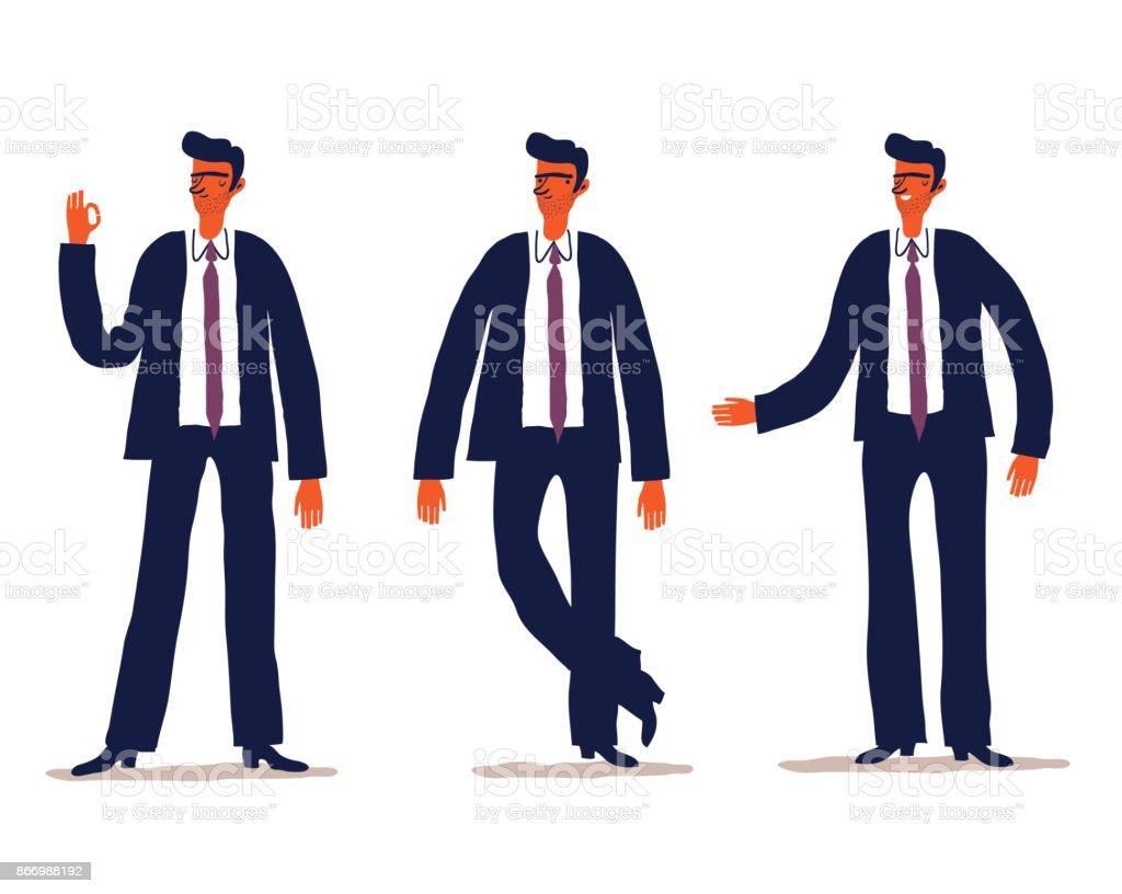 Business-Zeichen-Sets – Vektorgrafik