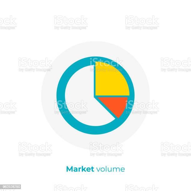Vetores de Gráfico De Negócios Plano De Ícone De Arte Arte Vetorial De Negociação De Investimentos Cartoon Ilustração De Estatística De Finanças e mais imagens de Acordo
