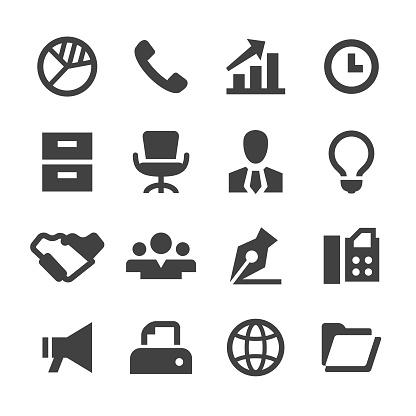 Business Icons - Minimal Series