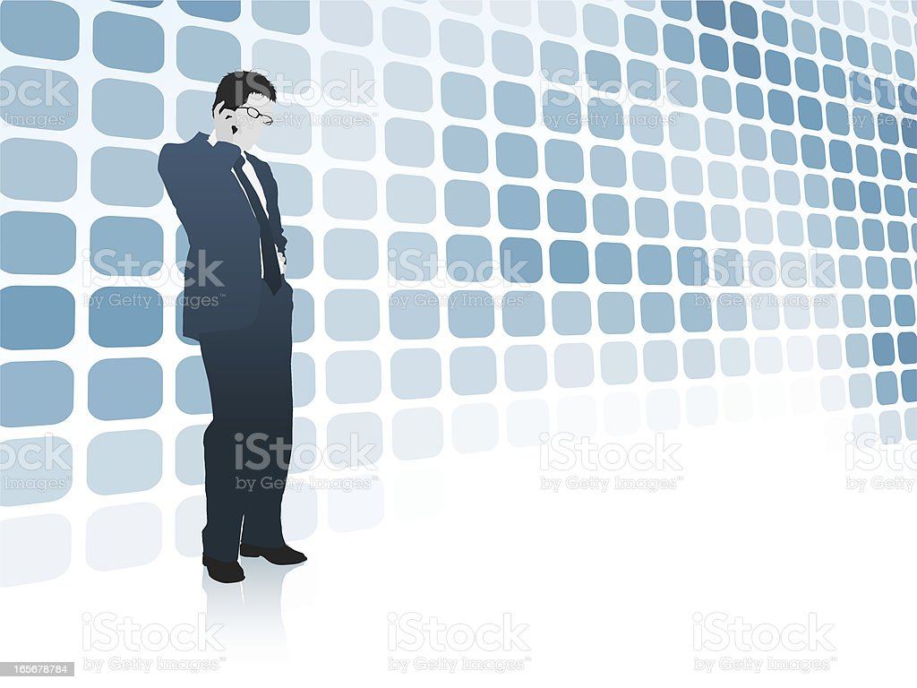 Business Communications royalty-free stock vector art