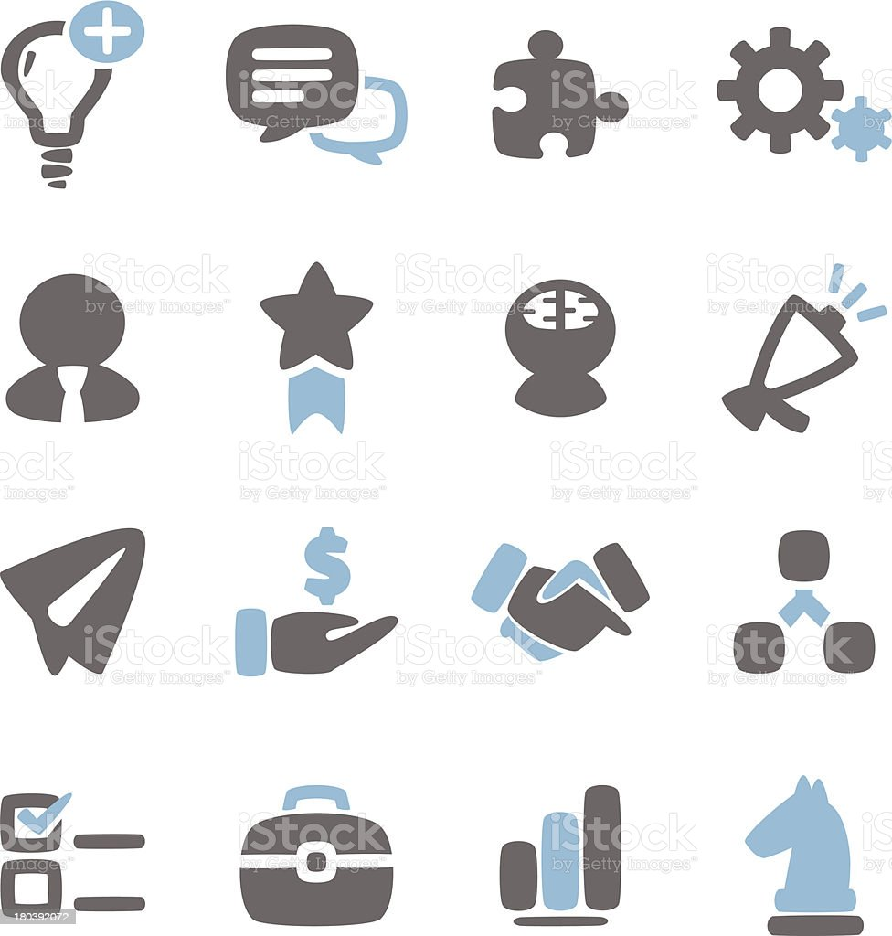 Business Concept Icon royalty-free stock vector art