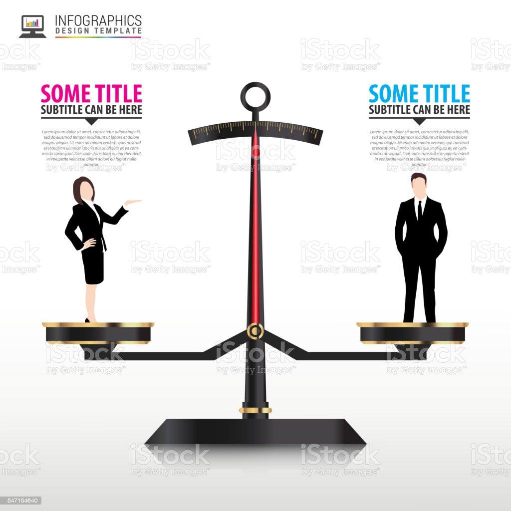 Business concept. Infographics template. Vector vector art illustration