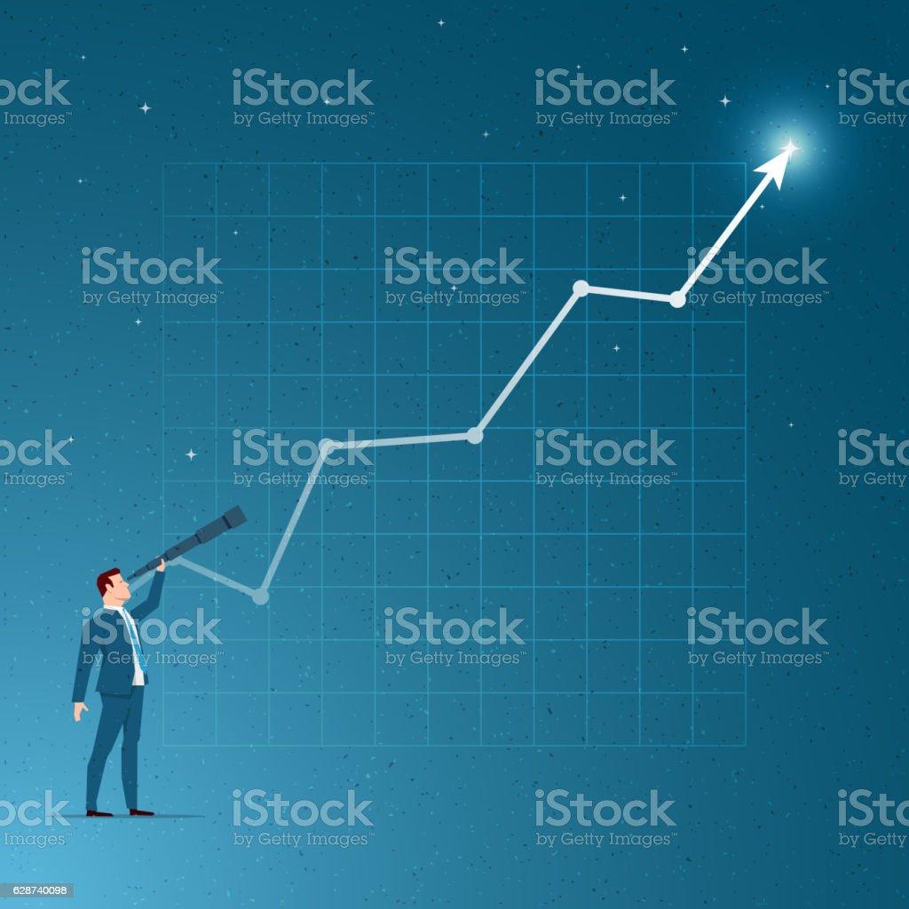 concept d'affaires vector illustration - Illustration vectorielle