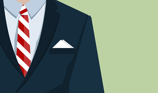 Business suit stock illustrations