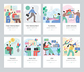 istock Business concepts set 1203136194