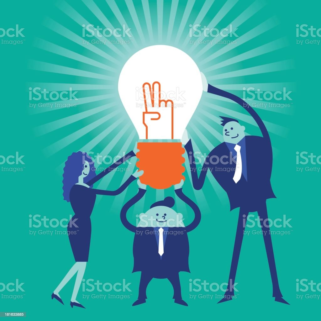 Business concept[Teamwork] royalty-free business conceptteamwork stock vector art & more images of adult
