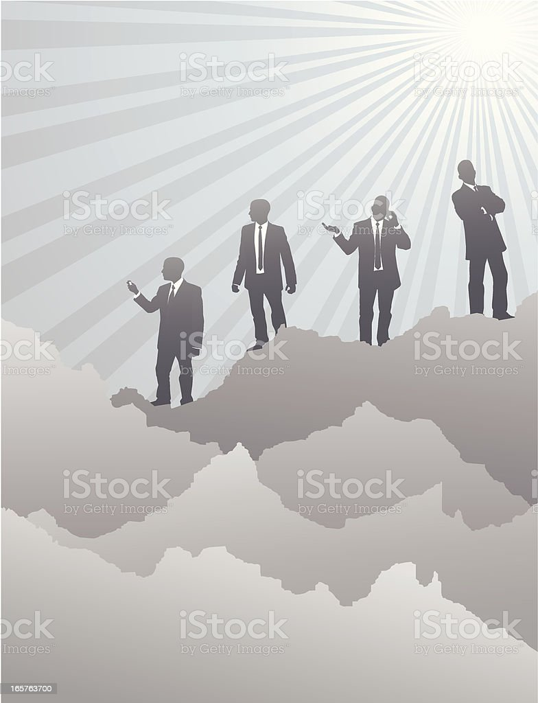 Business Control royalty-free stock vector art