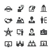 Business Convention Icons - Acme Series