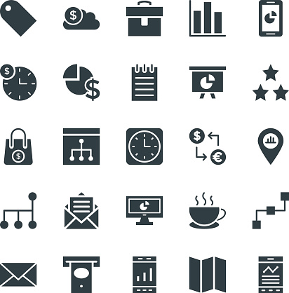Business Cool Vector Icons 2