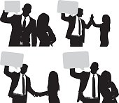 Business couple with speech bubblehttp://www.twodozendesign.info/i/1.png