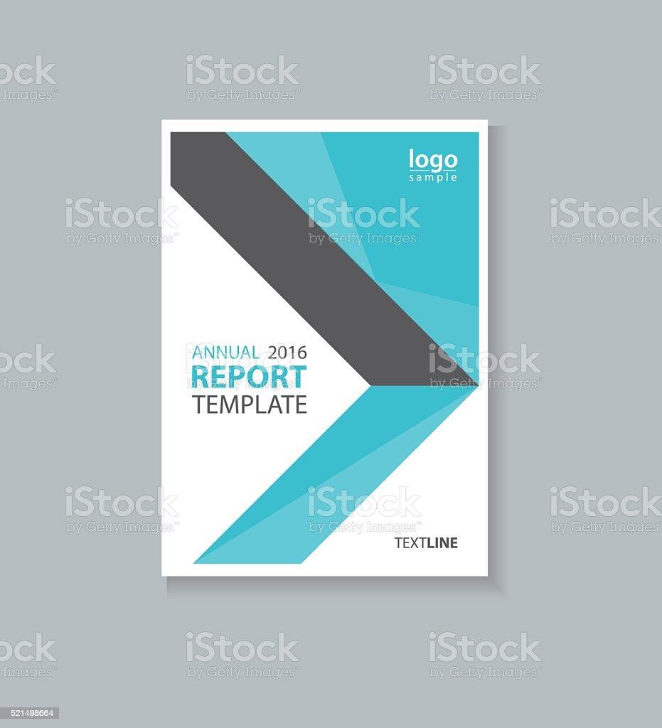 Negocio Portada Plantilla De Diseño De Folleto Informe Anual Flyer ...