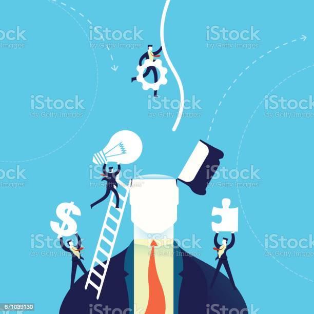 Business creative mind change concept illustration vector id671039130?b=1&k=6&m=671039130&s=612x612&h=nxjnkswufovo7j8xebauv2 ium5nwinxx5cafreb6xe=
