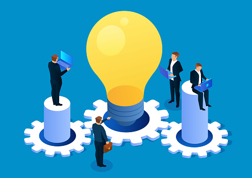 Business creativity and team work