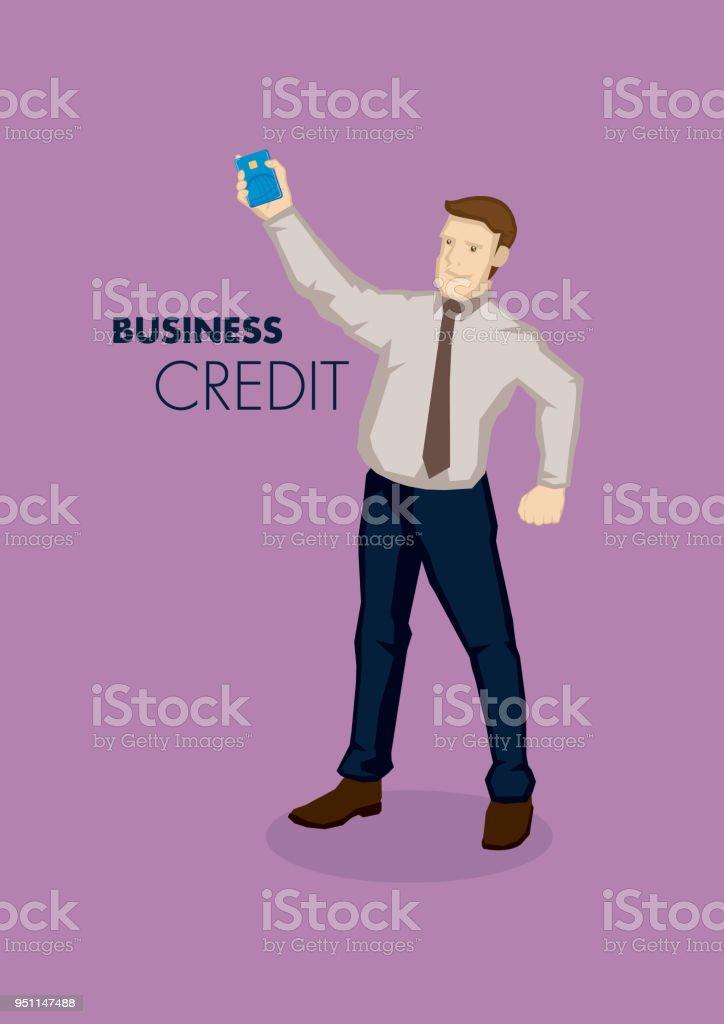 Business Credit Conceptual Vector Illustration Stock Vector Art