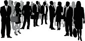 Business Crowd Circle