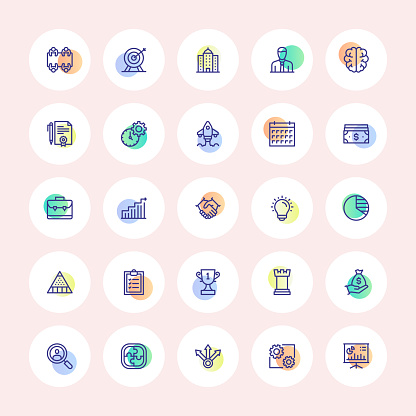 Business Cycle Icons
