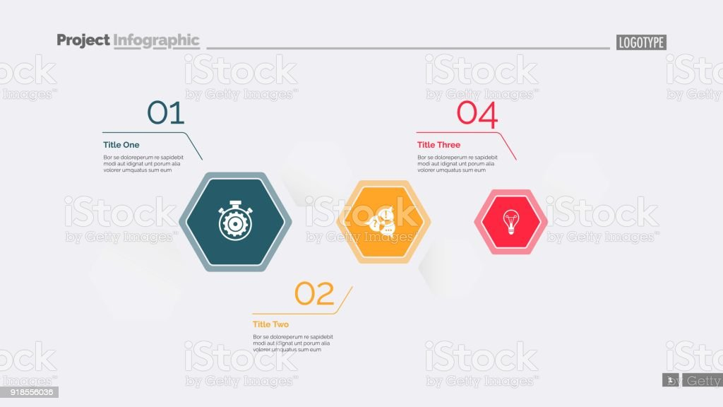 Business Data Visualization Slide Template Stock