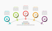 istock Business data visualization. timeline infographic icons designed for abstract background template 1212464304