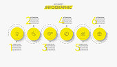 istock Business data visualization. timeline infographic icons designed for abstract background template 1219655373